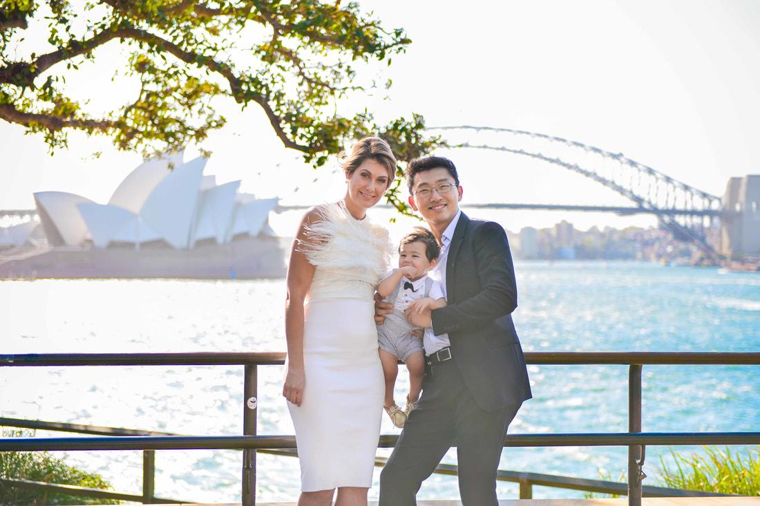 Sydney Royal Botanic Gardens Family & Wedding Photos